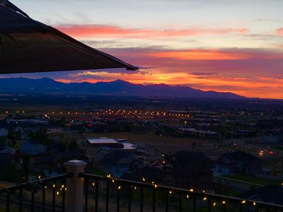 Photo for 2 Room Walk Out in Draper Heights with Amazing Sunset Valley & Mountain Views