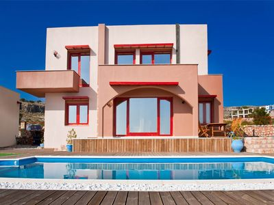 Photo for Villa Emmanouela of Spilia is built over a nat... - Three Bedroom Villa, Sleeps 6
