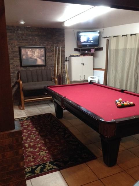 Game Room With 9u0027 Pool Table