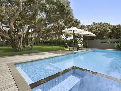 Photo for Moonah Pool and Spa Retreat   Portsea | Walk to Bay Beach