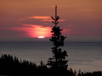 Sunrise from Anchor Rock Lookout
