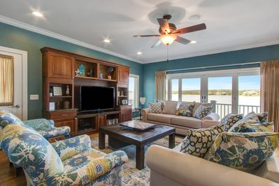 The Lake House is the perfect place for friends and family to get away!