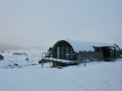 Photo for Unique Eco Retreat: stunning views: 1300 metres; 35-50 mins. to the snowfields