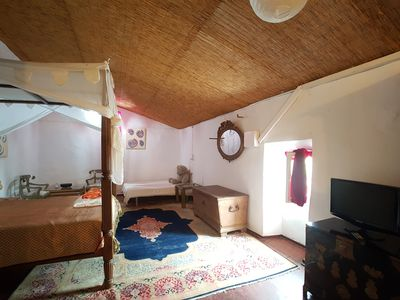 """Photo for Double room """"Cielo"""" on finca, AC, breakfast possible, swimming pool"""