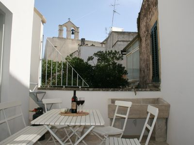 Photo for Stylish Art Deco holiday home in historical Baroque old town palazzo, Puglia