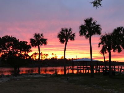 Photo for Peaceful Matanzas Riverfront Retreat in the Hammock on 1.3 acres with A dock