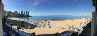 Photo for PLAYA LEVANTE, NEW! CLIMATISED, INTERNET, SAT TV, SWIMMING POOL, PRIVATE PARKING