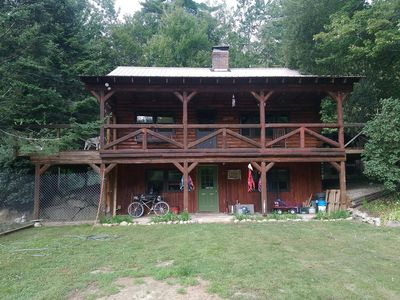 Photo for Log Home on Trails - Dog Friendly