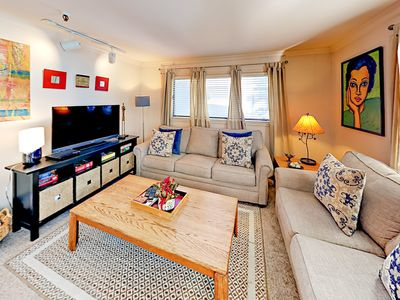 2nd Living Room - The comfortable 2nd living room has a queen-size sleeper sofa to accommodate extra guests.