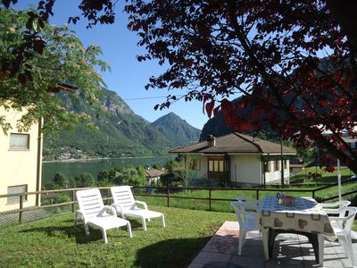 Photo for Casa Luisa, 4 pers., Quiet location with sunny garden, 500m to the lake