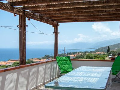 Photo for Large and panoramic attic with sea and mountain views