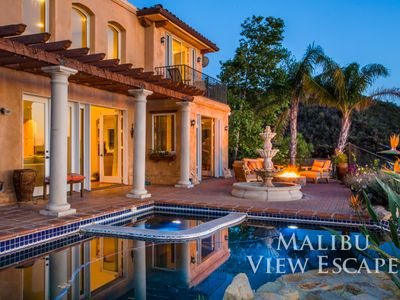 Photo for Malibu View Escape With Infinity Pool!
