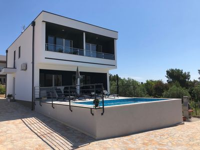 Photo for VILLA MARIA with private pool and sea views