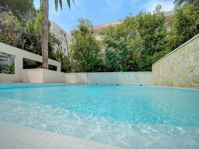 Photo for IMMOGROOM - Terraces - Swimming pool - A/C - Residence - CONGRESS/BEACHES
