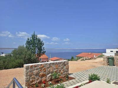 Photo for Studio with air conditioning, terrace and sea view