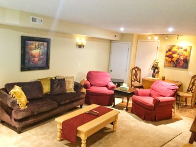 Photo for CEADARWOOD HAVEN close to Silverwood Theme Park, Lakes, hiking and golf courses