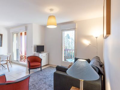 Photo for Deauville Apartment, Sleeps 4 with Pool and Free WiFi