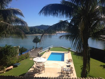 Photo for BARRA DO UNA BEACH HOUSE - 4 SUITES - SWIMMING POOL- SEA AND RIVER VIEW
