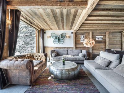 Photo for Silvretta 5 - High end chalet decorated with traditional ad modern style