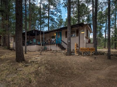 Photo for Quiet Cabin w/ WiFi, Grill, Big Screen TV & Conservation Views
