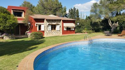 Photo for Charming Finca with Pool, Garden, Air Conditioning and Wi-Fi, Pets Allowed