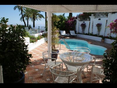 Photo for LUX APPARTMENT WITH POOL AND SEA VIEWS