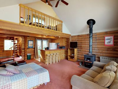 Photo for NEW LISTING! 3 separate cabins w/private hot tub-walk to lifts, great for groups