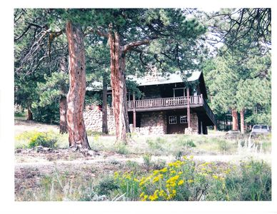 Photo for Estes Park Cabin, Sleeps 11, on YMCA of the Rockies conference grnds, mtn view