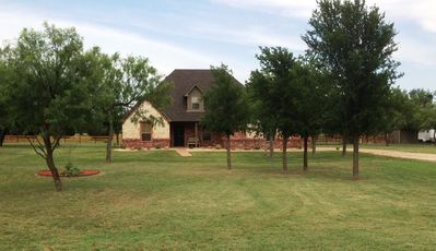 Photo for Beautiful 2 Bedroom - 1 ½ Bath Home With Western Décor On 5 Acres