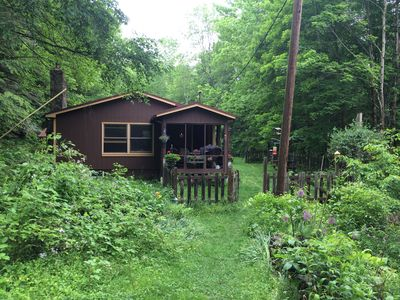 Photo for Secluded cabin in the Catskills