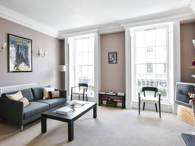 Photo for Grand 2BR Apartment In Belgravia, off Sloane Square - Two Bedroom Apartment, Sleeps 4