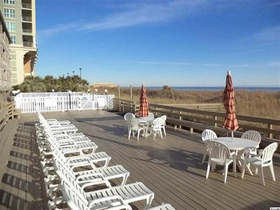 Photo for Oceanfront  3rd Floor Walk Up Reduced rates for August 125 per nite + fees