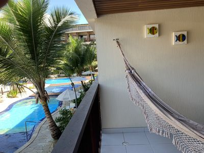 Photo for Flat at Nannai Residence - Muro Alto - Porto De Galinhas