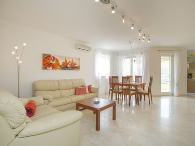 Photo for Modern, high quality apartment with sea views, private parking & free Wi-Fi