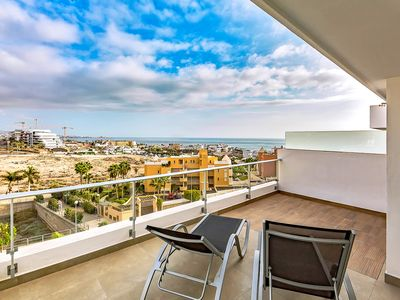 Photo for Spectacular penthouse In La Caleta