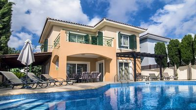 Photo for Villa Stadiou is located on a private road of just seven villas, and a mere hundred meters from the