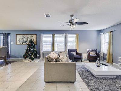 Photo for A large open home to fit the entire family, friends and even the in-laws.