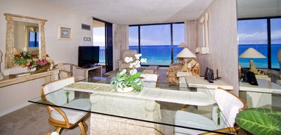 Photo for Get Me to Maui~ Elegant Beachfront 1 BR, 8th Floor~Awesome Ocean Views!