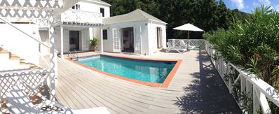 Photo for Beachside house with pool in beautiful English Harbour