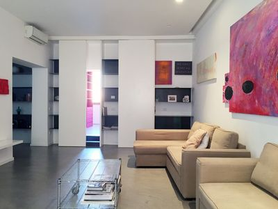 Photo for Design & art 2 bedrooms amazing apartment at the Pantheon