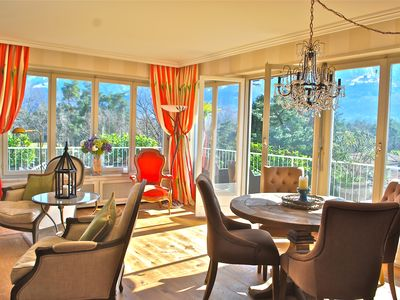 Photo for Luxury & Charm - Beautiful Ascona Penthouse Steps to Golfcourse & Beach