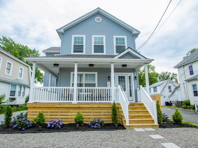 Photo for NEW CONSTRUCTION! Perfect family getaway near Belmar Marina w/ waterfront views!