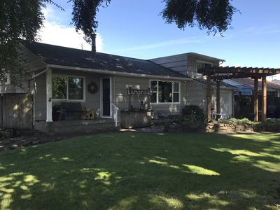 Photo for 1950's established and well kept neighborhood. Walking distance to everything!
