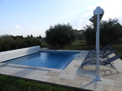 Photo for Gite Oléa, surrounded by olive trees with swimming pool