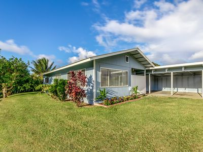 Photo for Newly Remodeled, well furnished home in old town Hawi. Quiet, relaxing getaway