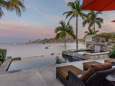 Photo for Most Luxurious Beach Front Villa in Cabo San Lucas with Private Beach Access