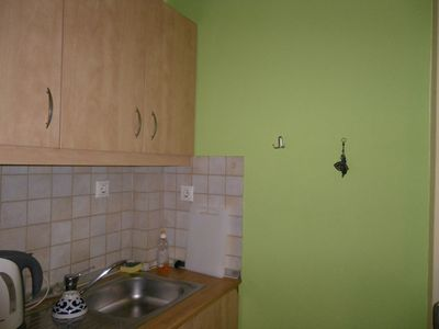 Detail of the kitchenette