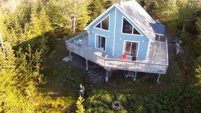 Photo for Bluenose House By The Ocean With Private Beach on Cape Breton Island, Nova Scotia