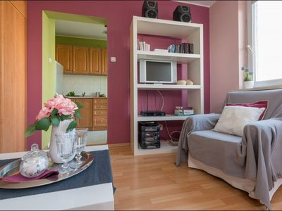 Photo for Bielany 4 apartment in Żoliborz with WiFi.