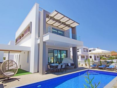 Photo for MELODY - Exceptional 3Bed Villa 50meters to Pernera Golden Beach